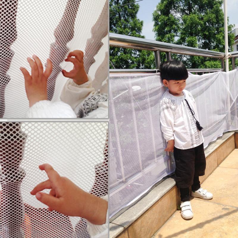 [해외]3m 아기 울타리 아동 안전 그물 어린이 발코니 계단 게이트 아기 짙은 프로텍터 홈 유아 용품/3m Baby Fence Child Safety Netting Children Balcony Stair Gate Baby Thickening Protector Home