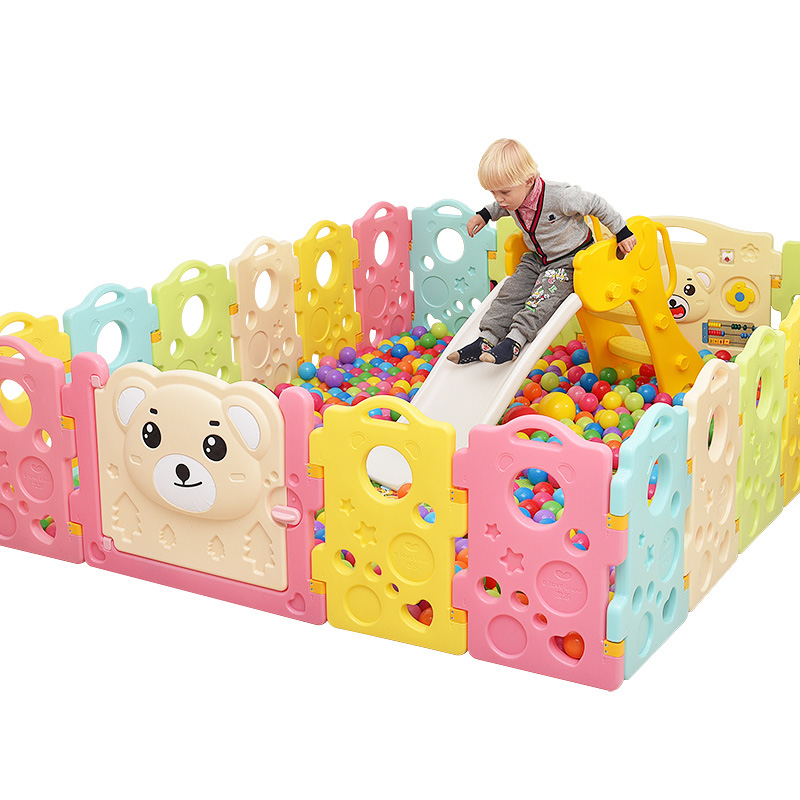 [해외]품질 울타리 아기 울타리 아기 안전 울타리 유아 장난감 울타리/Quality baby Fence child fence baby safety guardrail creepiness toddler fence crib game house toy playpen color
