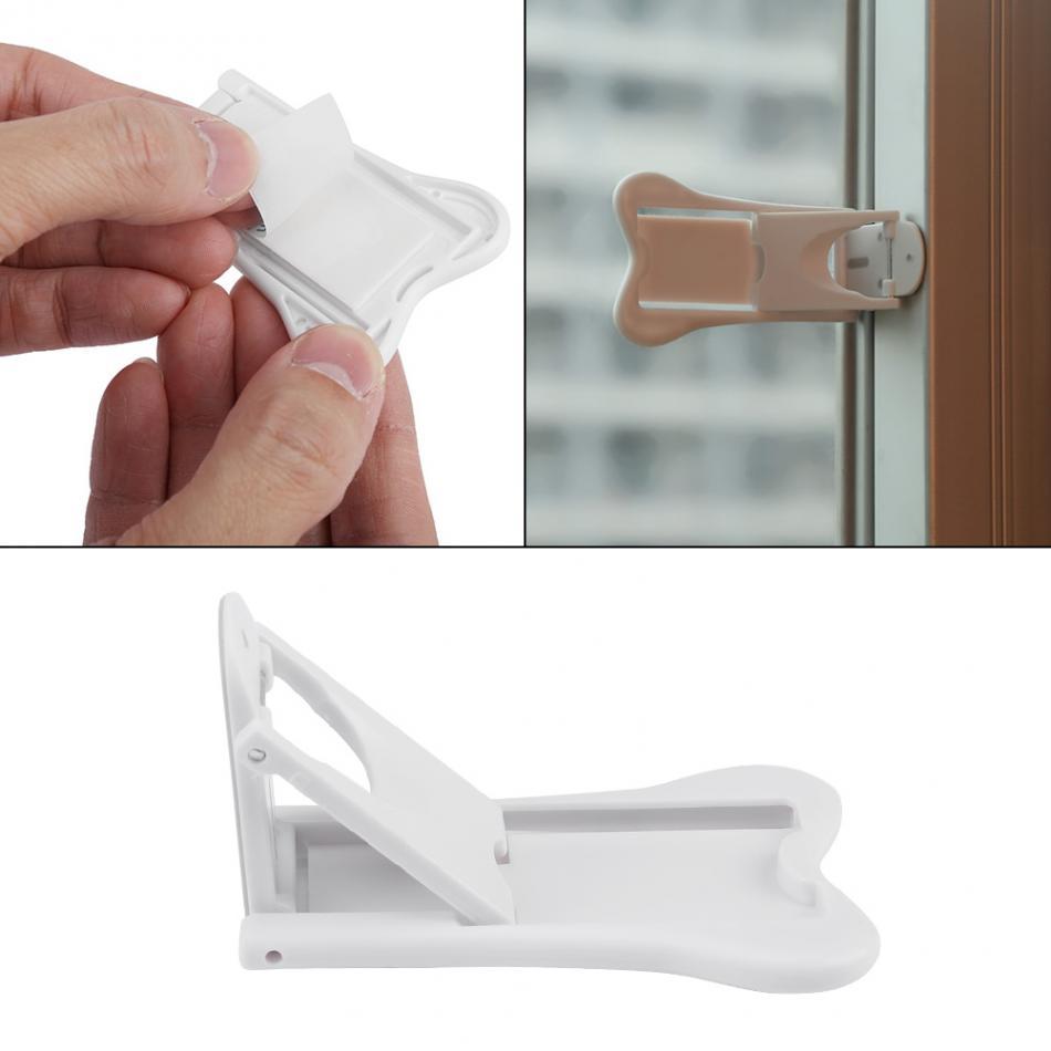 [해외]2pcs 베이비 케어 안전 어린이를보이지 않는 잠금 어린이 어린이를도어 윈도우 안전 유아 어린이 안전 제품/2pcs Baby Care Safety Invisible Lock For Children Kids Lock Door Window Safety For Inf