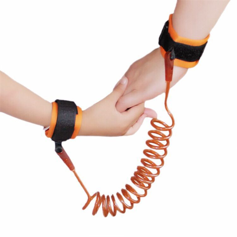 [해외]안전 보호 어린이 안티 - 잃어버린 TPU 스틸 와이어 탄성 밧줄 베이비 안티 테이크 멀리 떨어져 털이 어린이 잃어버린 반지에서 1.5m/Safety Protection Children Anti-Lost TPU Steel Wire Elastic Rope Baby
