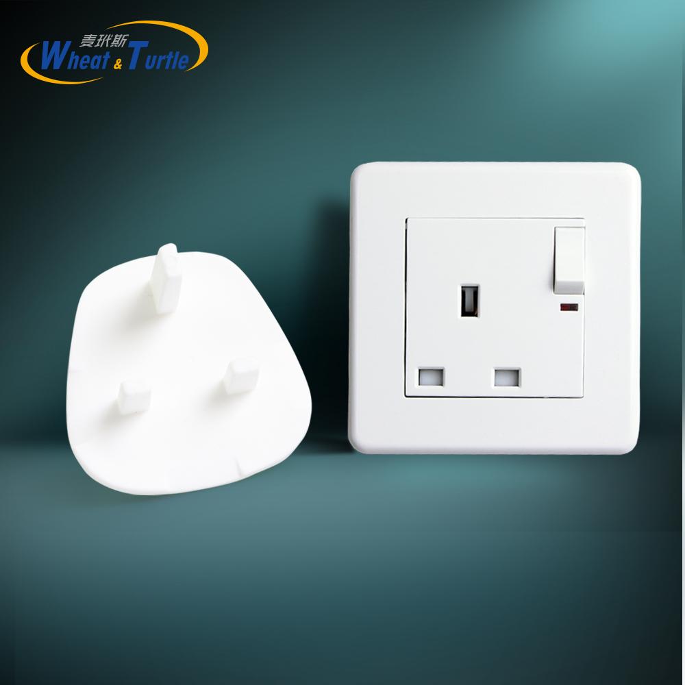 [해외]4Pcs / Lot 영국 / BS 표준 소켓 커버 아기 전기 소켓 콘센트 플러그 키즈 전기 안전 프로텍터 소켓 보호 캡/4Pcs/Lot UK/BS Standard Sockets Cover Baby Electric Sockets Outlet Plug Kids El