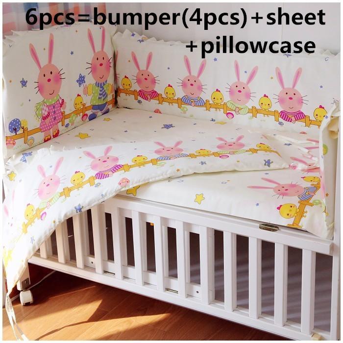 [해외]추진 6 / 7PCS 침대 침구 세트,면 100 % 아기 침대 beding 세트, 120 * 120분의 60 * 70cm/Promotion 6/7PCS cot bedding sets,100% cotton baby crib beding sets , 120*60/1