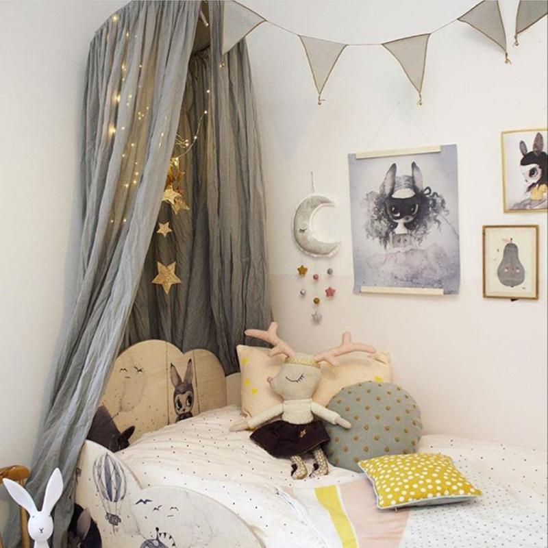 [해외]베이비 침구 어린이 룸 장식품 장식품 장식품 각도 벽걸이 다채로운 그물 장식 넷 침대 세트 250cm/Baby Bedding Kids room Colorful wall decoration nets angle stars hanging ornaments adornm