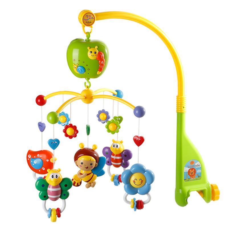 [해외]Tian zou 베이비 침대 벨 음악 회전 침대 옆 0-3-6-12 개월 신생아 장난감 딸랑이/Tian dou Baby Bed Bell Music Rotation Bedside 0-3-6-12 Months Newborn Toy Rattles