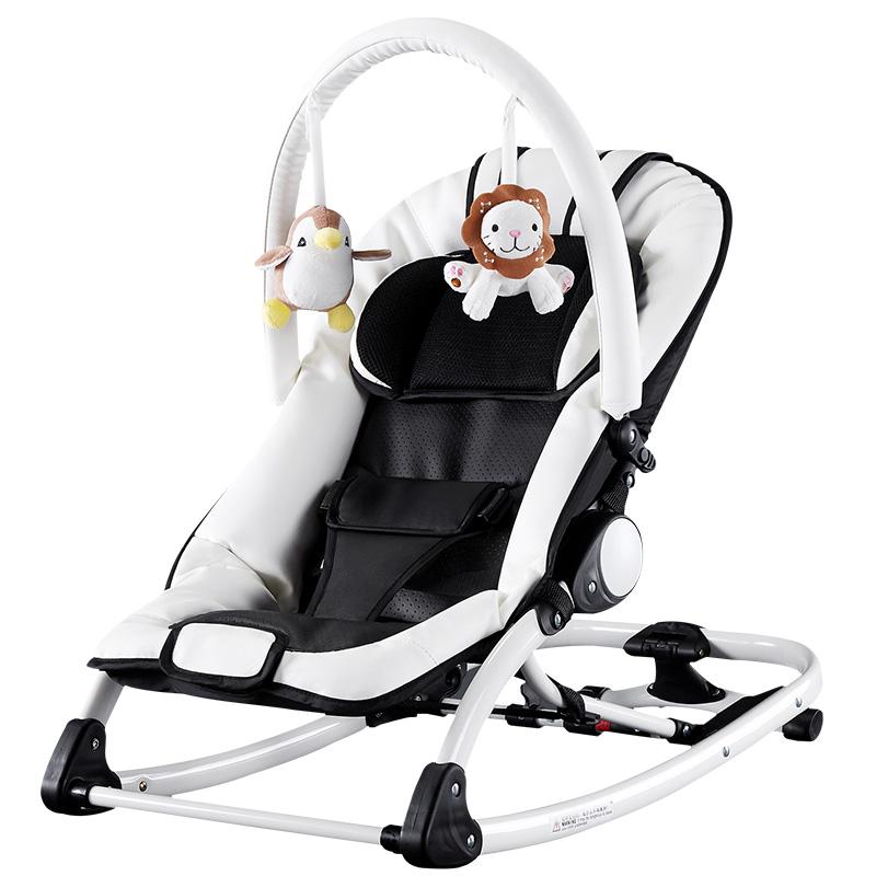 [해외]Chbaby 음악 흔들 의자 아기 침대 락 어린이 크래들/Chbaby Music Rocking Chair Baby Bed Rocking  Children Cradle