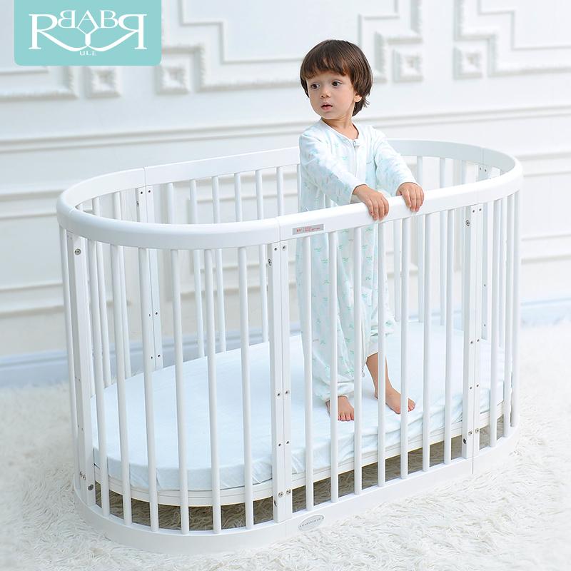 [해외]유럽 ??스타일의 다기능 아기 게임 침대 솔리드 우드 원형 침대의 Babyruler/Babyruler  of European Style Multifunctional Baby Game Bed Solid Wood Circular Bed