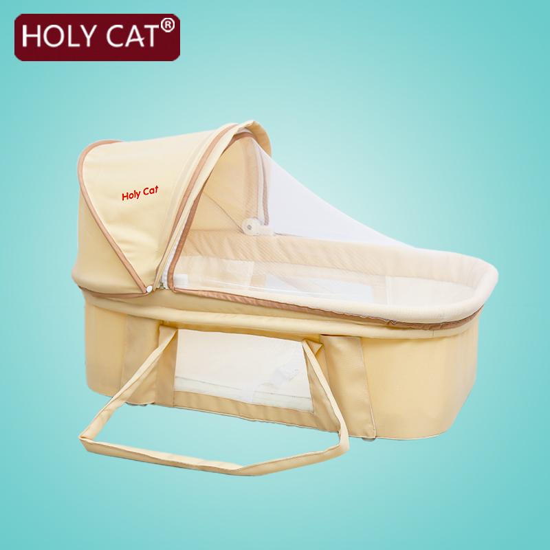 [해외]Holycat 아기 바구니 접는 휴대용 자동차 차양 바구니를 자고/Holycat Baby Basket Folding  Portable Car Sunshade Sleeping Basket