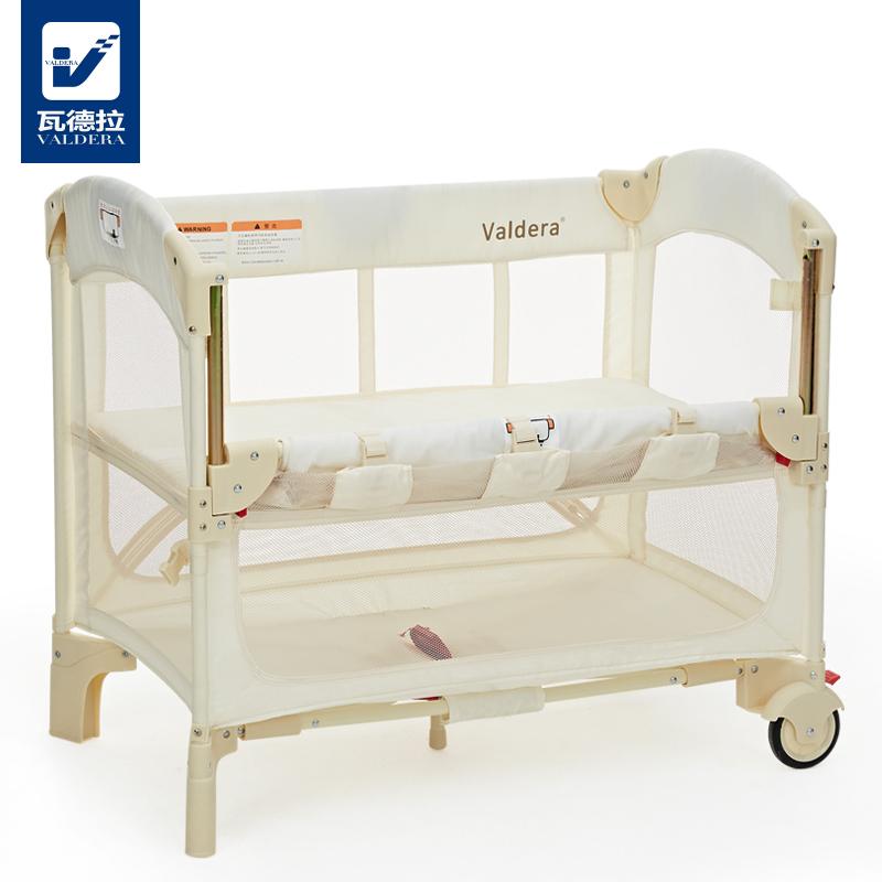 [해외]Valdera 아기 침대 도킹 수  모기장 다기능 휴대용 접는 침대/Valdera Baby Bed Can Be DockedMosquito Net Multifunctional Portable Folding Bed