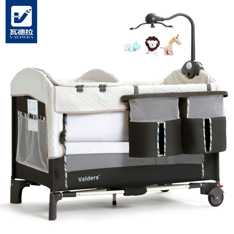 [해외]발레라 접이식 다기능 유아용 침대 및 신생아 침대 여행/Valdera Foldable Multifunctional Baby Bed and Newborn Bed Travelling