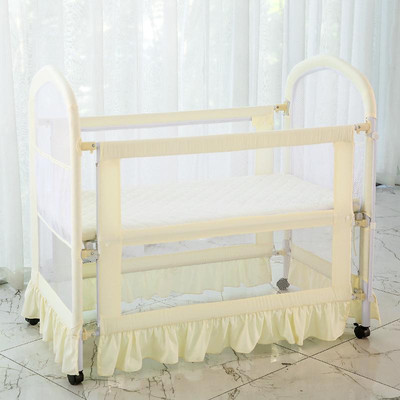 [해외]신생아 아기 침대 유럽 스타일 다기능 환경 보호 천을 아기 침대 어린이 침대 게임 BedMosquit/Newborn Baby Bed European Style Multifunctional Environmental Protection Cloth Baby Bed C