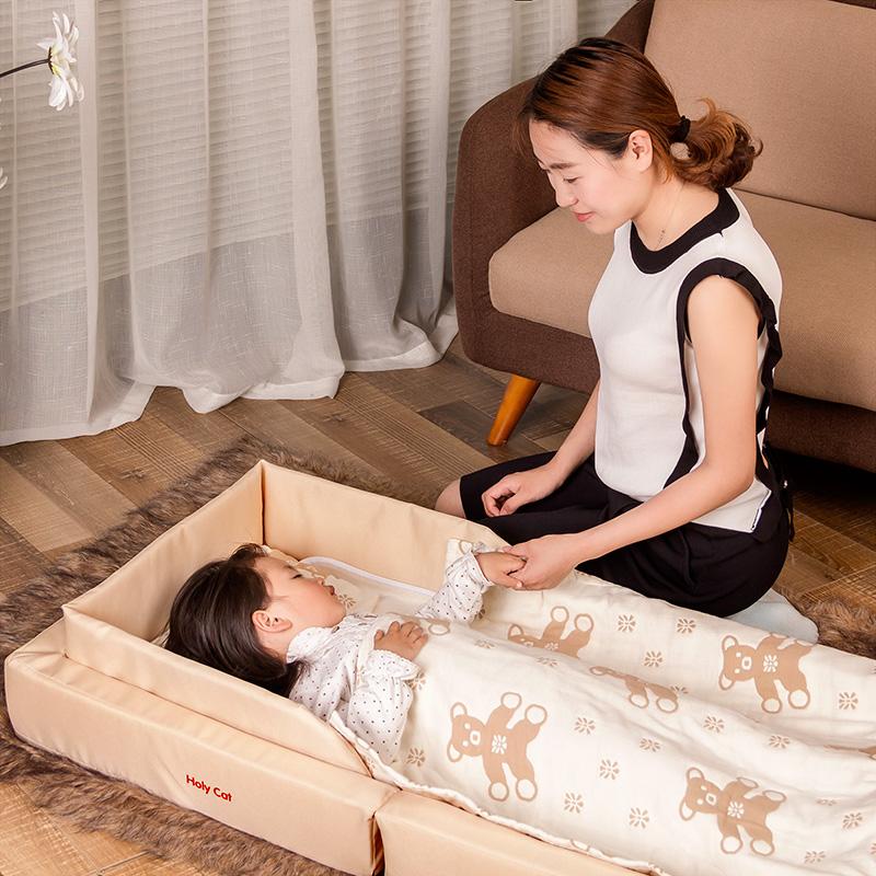 [해외]Holycat 접는 아기 침대 신생아 아기 휴대용 바구니 여행 침대 압력 Prooffree 선물/Holycat Folding Baby Bed Newborn Baby  Portable Basket Travel Bed Pressure Prooffree gifts