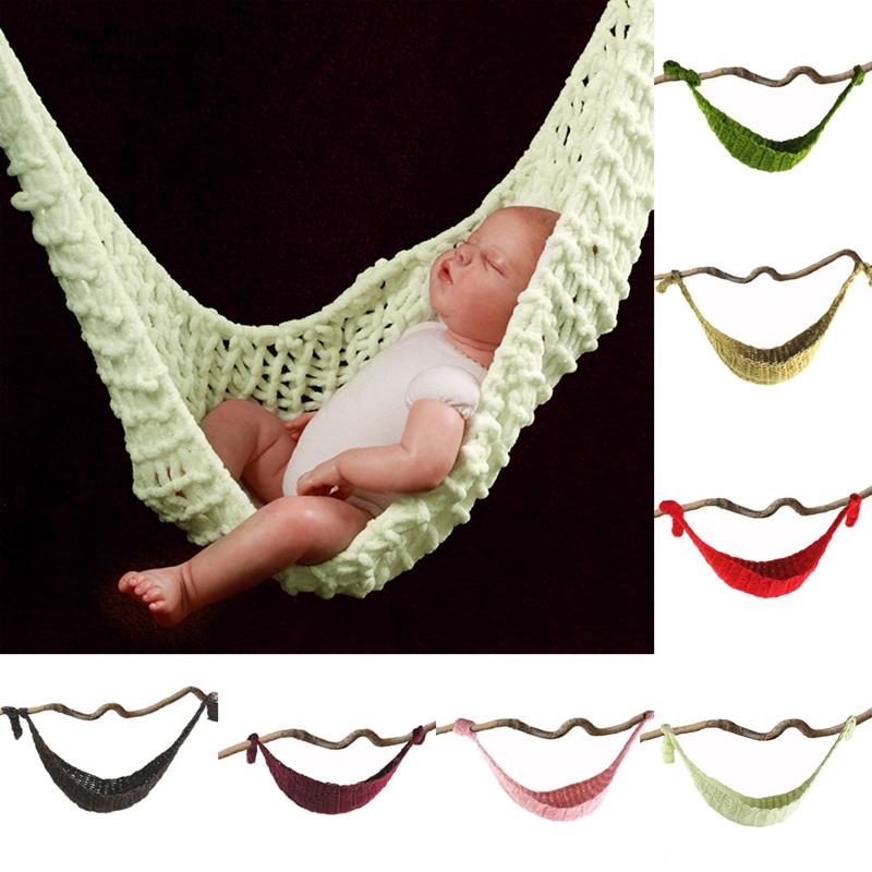 [해외]사진 스튜디오 아기 & s 사진 소품 양모 아기를수제 니트 정력 그물 해먹/Photographic Studio Baby&s Photo Props Wool Handmade Knitted Tuck Net Hammock for baby
