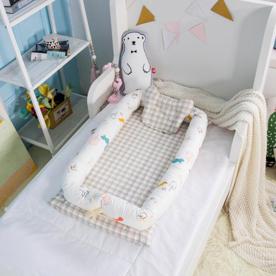 [해외]휴대용 침대 어린이 침대 신생아 bb 아기 높은 품질의 수면 접이식 bionic 침대는 0-36M 아기를침대를 청소할 수 /Portable crib bed neonatal bb baby high quality sleeping artifact collapsible