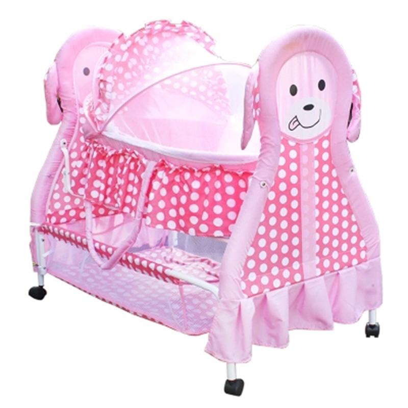 [해외]유아용 침대 요람 침대 바구니 유아용 침대 신생아 자고 바구니 수갑 다기능 BB 작은 침대보/Crib cradle bed basket crib baby bed newborn sleeping basket shackles multifunctional bb small