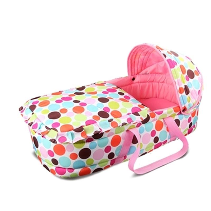 [해외]휴대용 크래들 자고 바구니 신생아 아기 바구니 여행 아기 요람 침대/portable cradle sleeping basket newborn baby basket travelling baby cradle bed