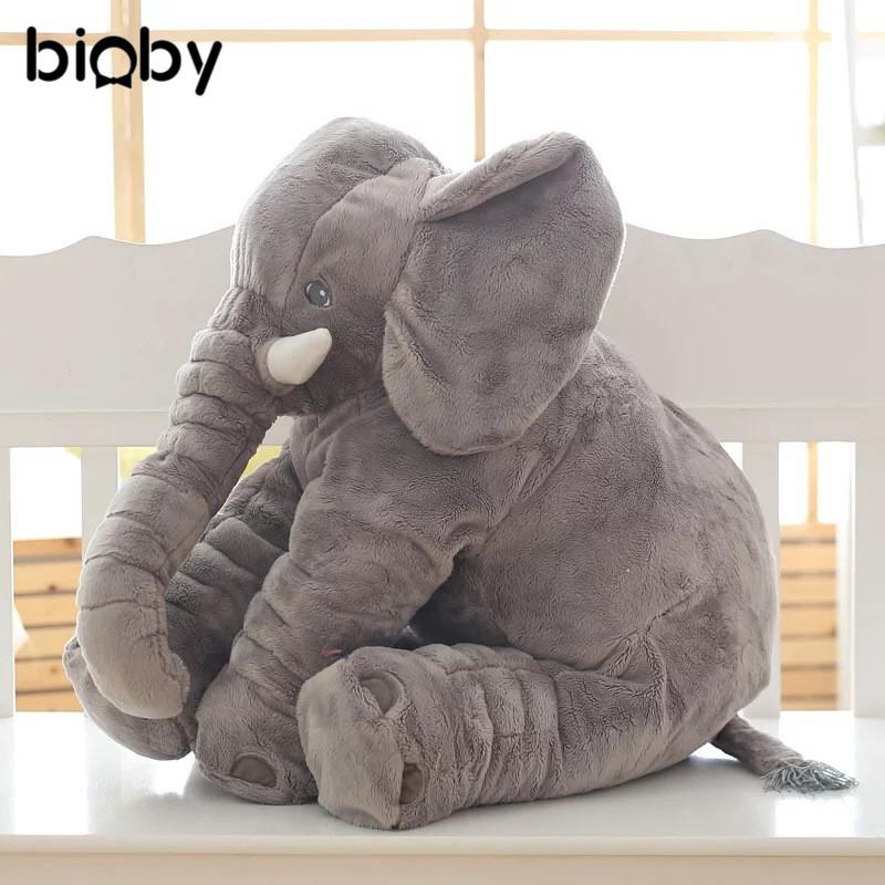 [해외]60cm 아기 유아 코끼리 베개 Supersoft 소파 쿠션 자동차 좌석 어린이 방 침구 아기 침대 유아 어린이 장난감 봉제 인형 크리스마스 선물/60cm Baby Infant Elephant Pillow Supersoft Sofa Cushion Car Seat