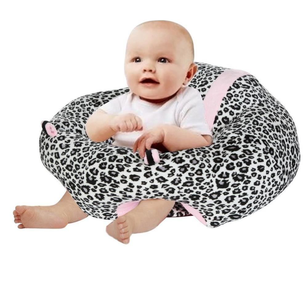 [해외]유아 좌석 의자 snuggle 귀여운 소 모양 지원 좌석 부드러운 코 튼 여행 자동차 좌석 베개 쿠션 완구 0-2Y 아기 좌석 소파/Infant Sitting Chair Snuggle Cute Cattle Shape Support Seat Soft Cotton