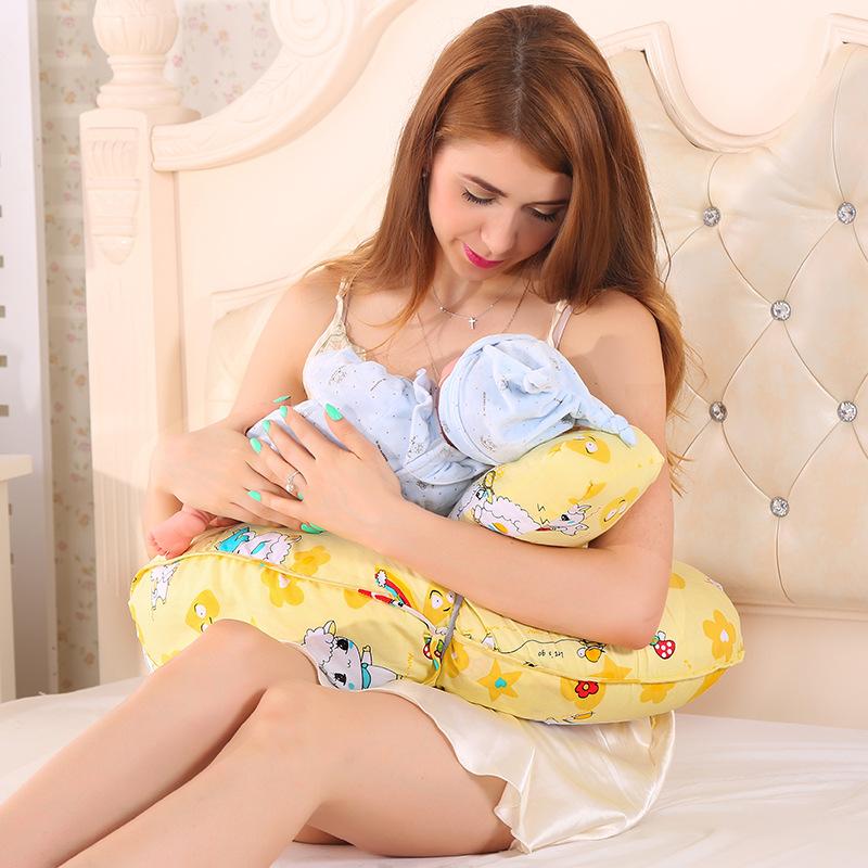 [해외]간호 모유 수유 쿠션 유아 급식 신생아 다기능 지원 안전면 100 % 면도기 베개/Nursing Breastfeeding Cushion Infant Feeding Newborn Baby Multifunction Support Safety 100% Cotton