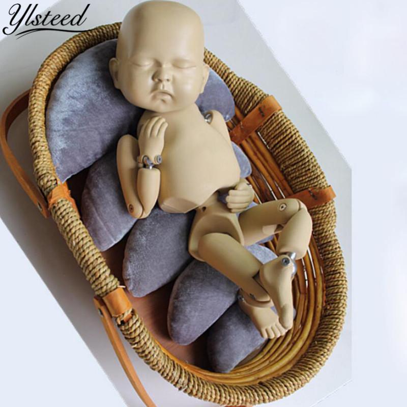 [해외]새 신생아 포즈 베개 베이비 쿠션 초승달 베개 사진 소품 유아 촬영 포지셔너 신생아 사진 액세서리/New Newborn Posing Pillow Baby Cushion Crescent Pillow Photo Props Infant Shooting Position