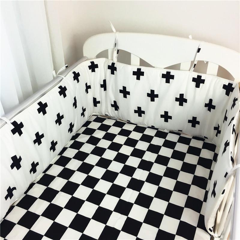[해외]아기 침구 세트 2pcs (1pc 범퍼 + 1 pc 시트) 목화 침대 침대 범퍼 200 * 29CM 침대 프로텍터 다채로운 베이비 침대 범퍼 및 시트/Baby bedding set  2pcs(1pc bumper+1 pc sheet ) Cotton Bed Cot