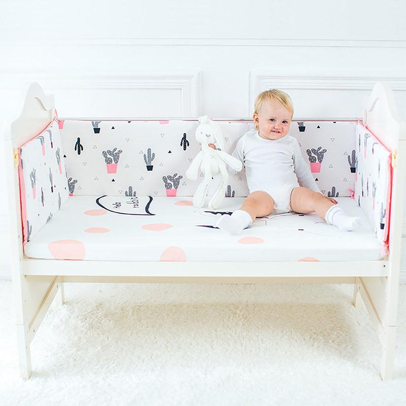 [해외]아기 침대 범퍼 부드러운 코 튼 유아 아기 침대 수 탉 편안한 신생아 보호 침대 범퍼 유아 침대 울타리 안티 범프 사용에 대 한/Baby Bed Bumper Soft Cotton Infant Crib Protector Comfortable Newborn Prot