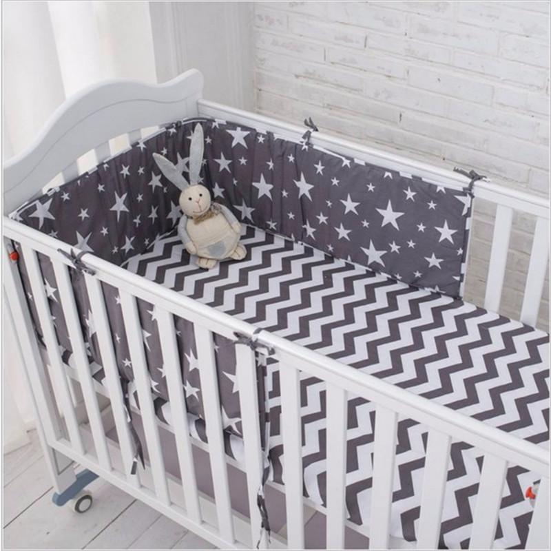[해외]?2pcs / lot 아기 침대 범퍼 아기 침대 범퍼 아기 침대 프로텍터 어린이 침대 범퍼 신생아 유아 침대 침대 세트 70 * 28cm/ 2Pcs/Lot Baby Bed Bumper in the Crib Cot Bumper Baby Bed Protector C