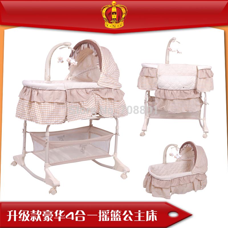 [해외]클럽은 4에서 1 아기 요람  를 bebes; /club bebes 4-in-1 baby bassinet ~amp; cradle in one in owl baby bed Incline Sleeper