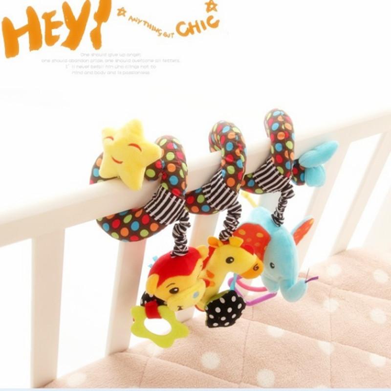 [해외] 아기 장난감 교육 모바일 아기 침대 침대 매달려 벨 신생아 유모차 어린이 침대 딸랑이 / 모바일 완구 어린이를위한/Free shipping Baby Toy Educational Mobile Baby Cot Bed Hanging Bell Newborn Infan