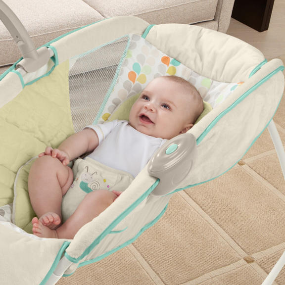 [해외]달빛 받침대 디럭스 음악 진동 의자 Newboen 아기 어린이 침대 흔들어 놓는 사람 별빛 침대 접기/Moonlight Cradle Deluxe Music Vibration Chair Newboen Baby Crib Rocking Sleeper Starlight