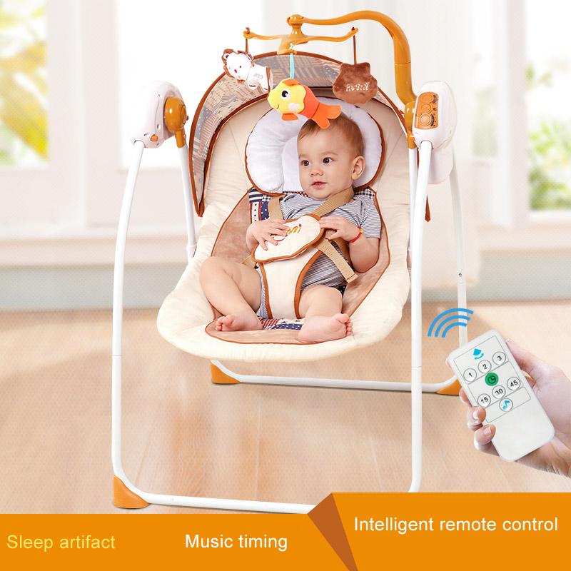 [해외]새로운 모델 Primi 자동 스윙 베이비 크래들 전기 Big SpaceMattress 블루투스 및 신생아 침대/New Model Primi Auto-swing Baby Cradle Electricity Big SpaceMattress Bluetooth And N