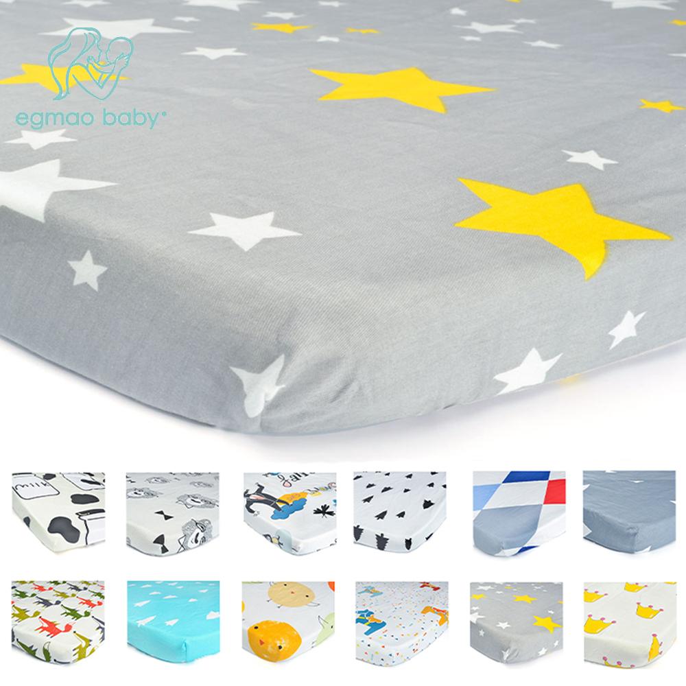 [해외]표준 아기 어린이 침대 매트리스를UniFitted 목화 시트 - 아니 입술이나 구멍, 보장 - 위대한 베이비 샤워 선물/UniFitted Cotton Sheets for Standard Baby Crib Mattresses - No Rips or HolesUse
