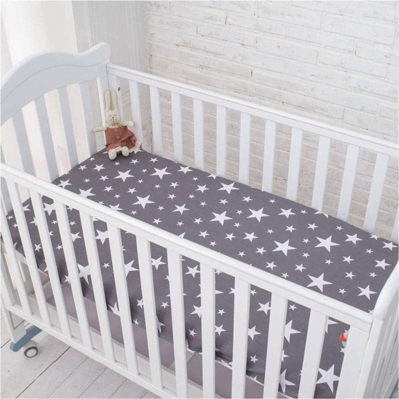 [해외]아기 침대 시트 100 % 신생아 침대 시트 만화 아기 환경 보호 반응 인쇄 130X70cm/Baby bed sheet 100%cotton newborn bedsheets cartoon baby environmental protection reactive pri