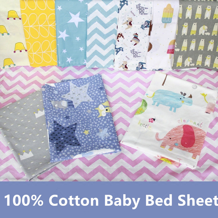 [해외]면 100 % 액티브 인쇄 침대 시트 아기 침구 세트 플랫 시트 1 세 -8 세 적용/100% cotton active printed crib sheet Baby bedding set Flat Sheet Apply to 1 year -8 years old