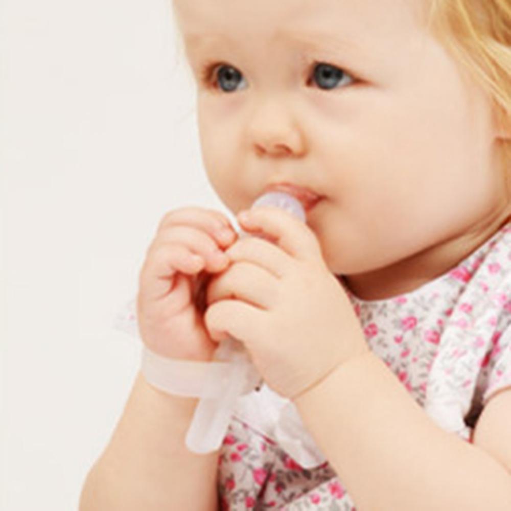 [해외]아기 Teethers 엄지 손가락 장갑 Thumbsucking Teether 중지 아기 손가락을 물지 마세요 아이의 예방은 빠는 손가락을 포기/Baby Teethers Thumb Gloves Stop Thumbsucking Teether Prevent The B