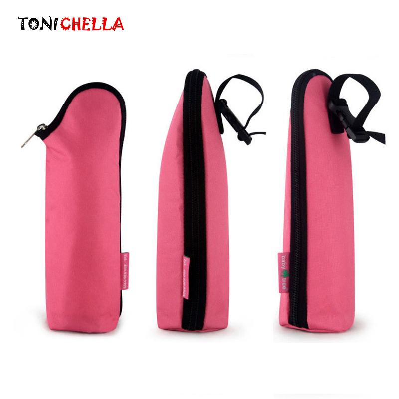 [해외]380ml 휴대용 보온 아기 젖 먹이는 우유 병 열 가방 유모차 아기 유방 우유 따뜻하게 여행 미라 토트 BB5010/380ml Portable Insulation Baby Feeding Milk Bottle Thermal Bag Stroller Hang Bab