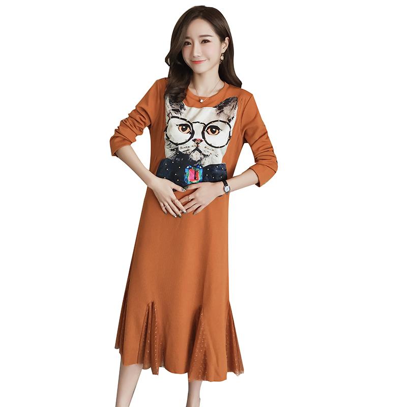[해외]?긴 출산 복장 플러스 크기 임산부 복장 겨울 임산부 간호 복장 모유 수유 복장 임신/ Long Maternity Dress Plus Size Pregnant Dress Winter Maternity Nursing Dress breastfeeding dress