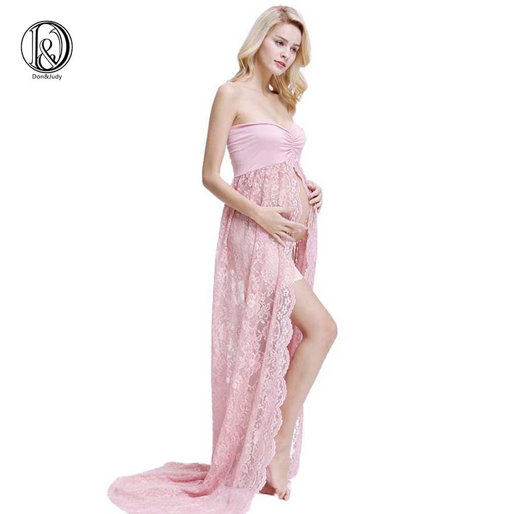 [해외]사진 촬영을출산 복장 스트레치 레이스 출산 복장 사진 임신 복장/Maternity Dress For Photo Shooting Stretch lace maternity dress photography Pregnant Dress