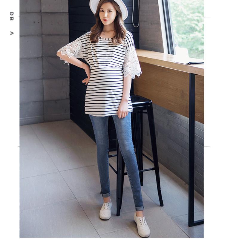 [해외]임산부 용 의류 임신 용 청바지 임산부 용 바지 임산부 용 청바지 임산부 용 바지/Maternity clothes Pregnancy jeans Pants for pregnant ladies Maternity jeans Maternity pants for preg