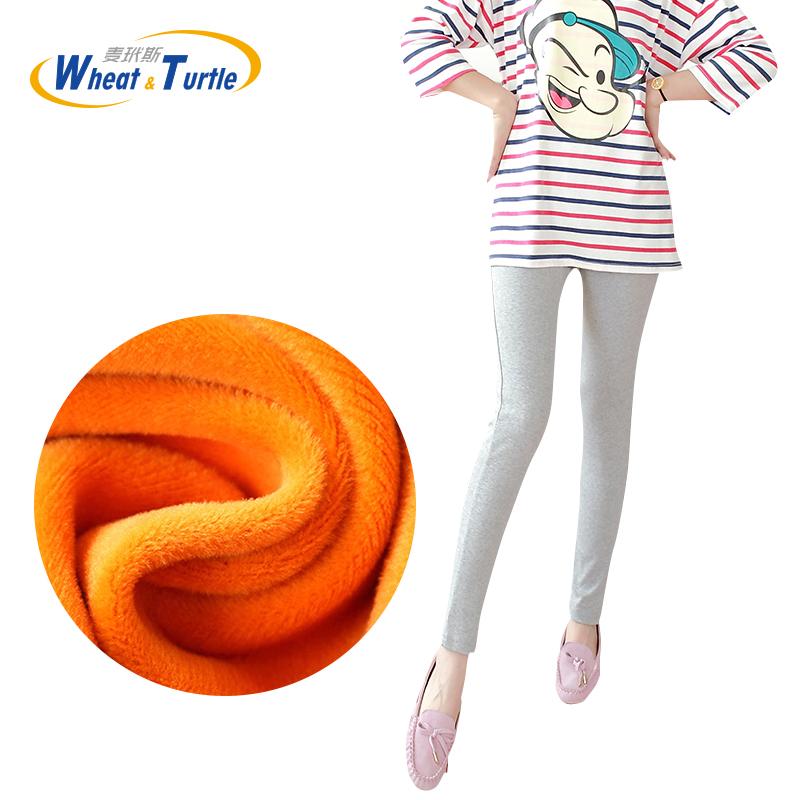 [해외]2017 임신 한 여성용 겨울용 새 코튼 레깅스 한국 버전 슬림 한 겨울 따뜻한 벨벳 출산 레깅스 출산 의류/2017 Winter New Cotton Leggings For Pregnant Women Korean Version Slim Winter Warm Ve