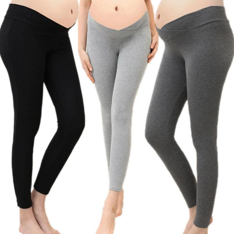 [해외]U 모양의 출산 바지 바지 봄 가을 임신 한 여성을코 튼 레깅스 간호 바지 un pantalon 옷 D3/U-Shaped Maternity Pants Trousers Spring autumn Cotton leggings for Pregnant women Nurs