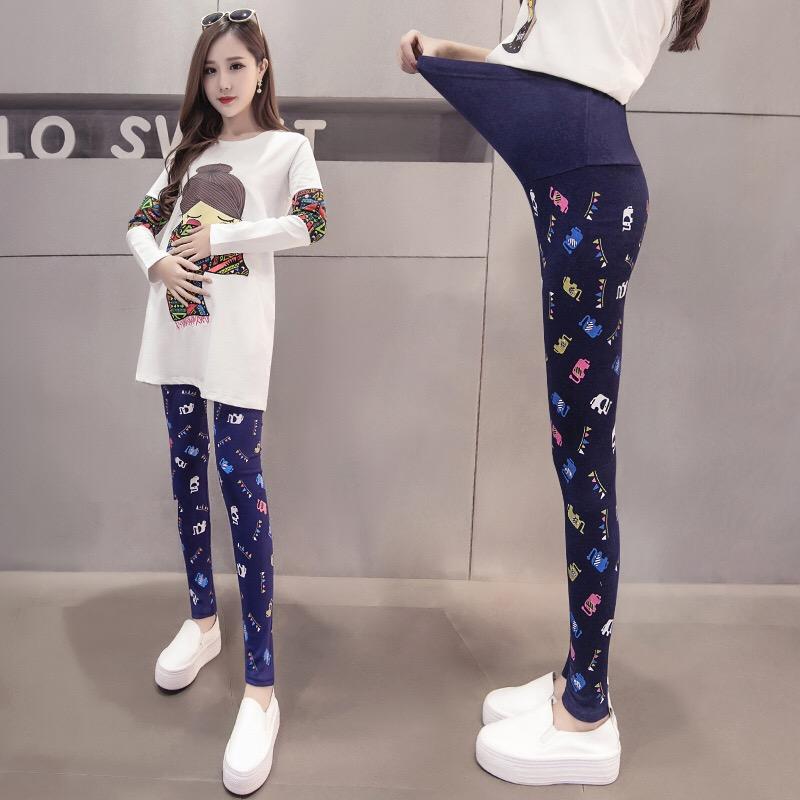[해외]2017 봄 임산부 복장 바지 배려 임신 배를배꼽 레깅스 솔리드 얇은 바지 4 색/2017 Spring Maternity Clothes Pants Care Belly Leggings for Pregnant Plus Size Solid Thin Trousers 4
