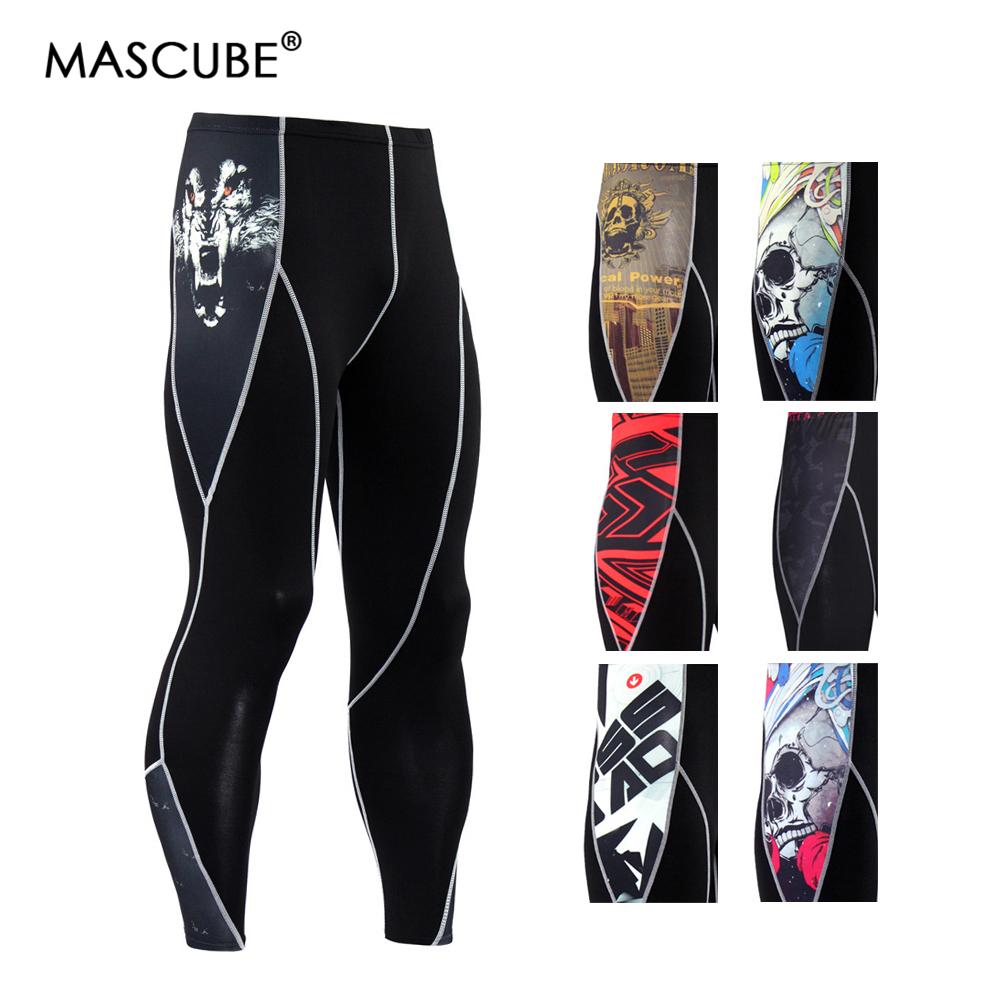 [해외]MASCUBE 러닝 스타킹 남성용 스포츠 레깅스 스포츠 팬츠 체육관 피트니스 스키니 용 슈트 얇은 레깅스 Sportwear/MASCUBE Running Tights Leggings For Men Sports Trousers Gym Fitness Skinny Sp