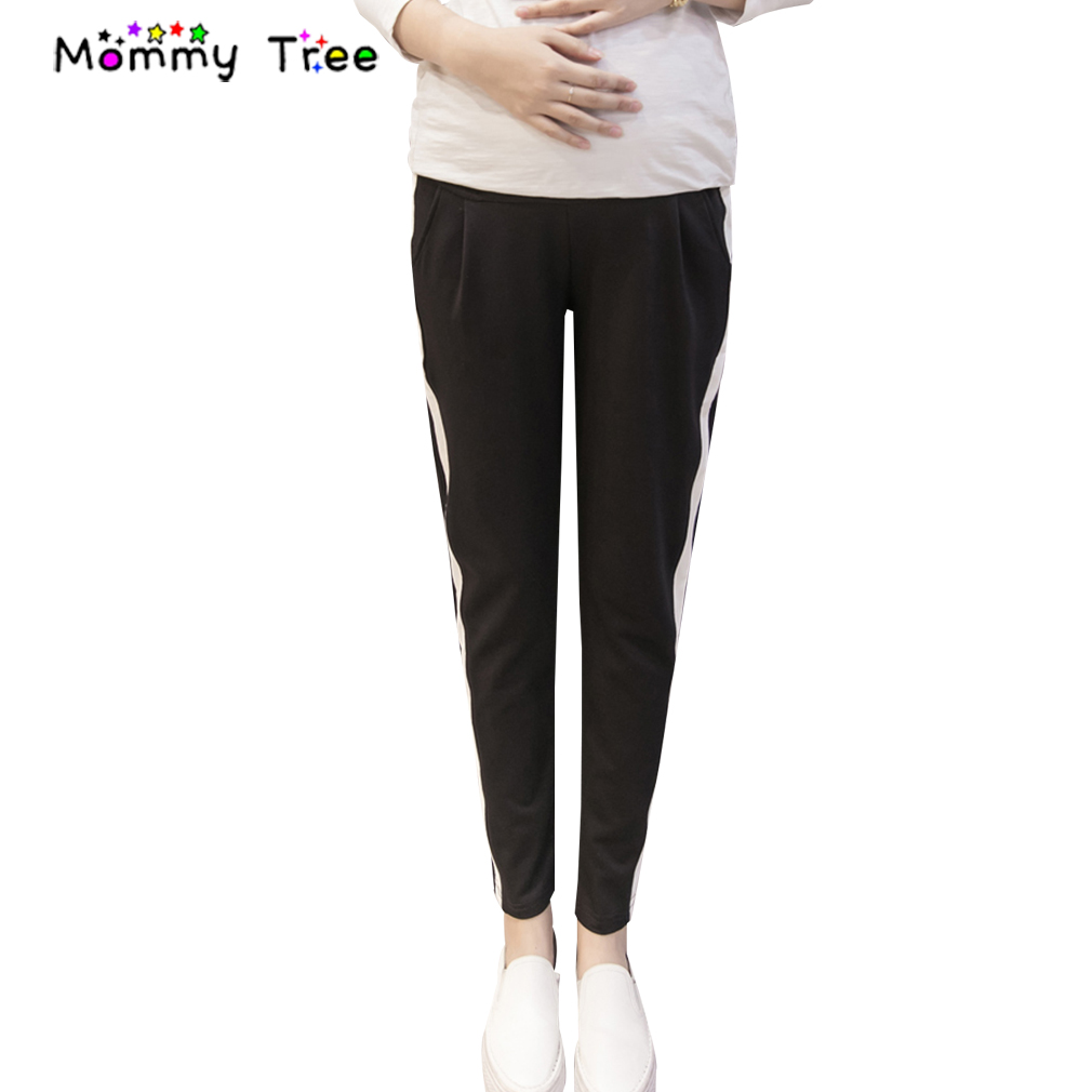 [해외]2017 여름 임산부 운동복 캐주얼 모성 스포츠 바지 코튼 바지 임산부 용 출산 옷/2017 Summer Pregnancy Sweatpants Casual Maternity Sports Pants Cotton Trousers Maternity Clothes fo