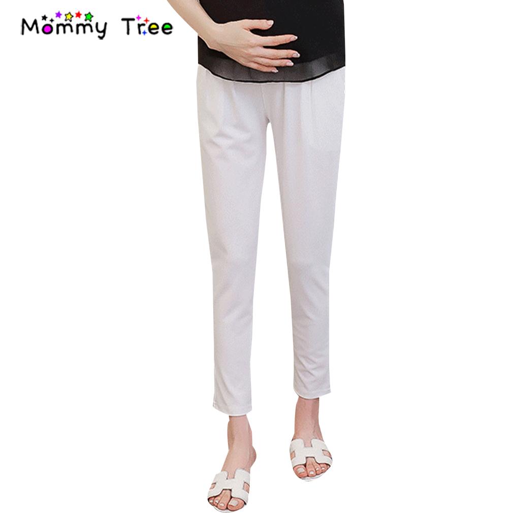 [해외]4 색 2017 임신 한 여성을여름 쉬폰 출산 바지 패션 임신 임신중인 나인 바지 캐주얼 출산 의류/4 Color 2017 Summer Chiffon Maternity Pants for Pregnant Women Fashion Pregnancy Nine Trou