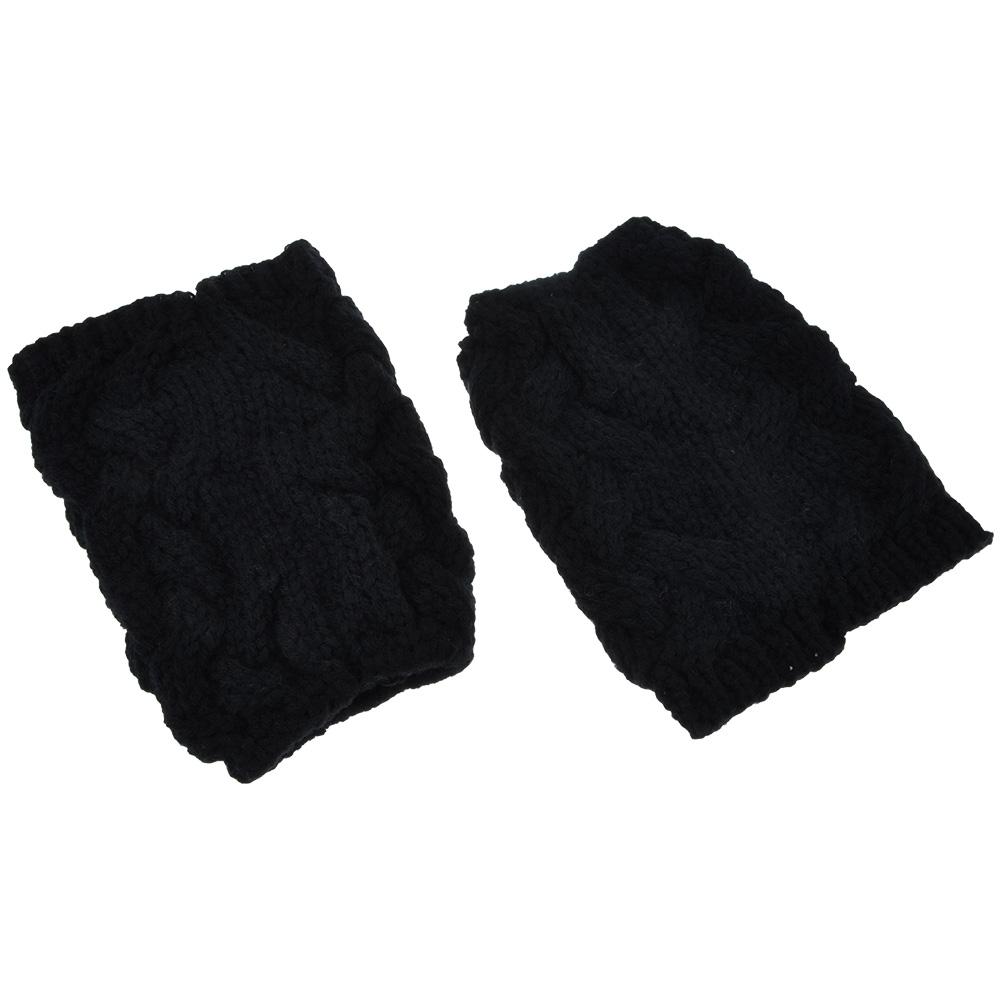 [해외]새 여자 겨울 다리 따뜻하게 솔리드 프라이드 반죽 트위스트 크로 셰 뜨개질 부팅 양말/New Women Winter Leg Warmers Solid Fried Dough Twist Crochet Knitted Boot Socks