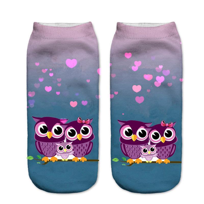 [해외]Pluckystar 새로운 패션 3D 양말 임신 한 여자 귀여운 만화 인쇄 양말 출산 여성 재미 있은 발목 양말 여자 숙녀 MS07/Pluckystar New Fashion 3d Socks Pregnant Woman Cute Cartoon Print Socks
