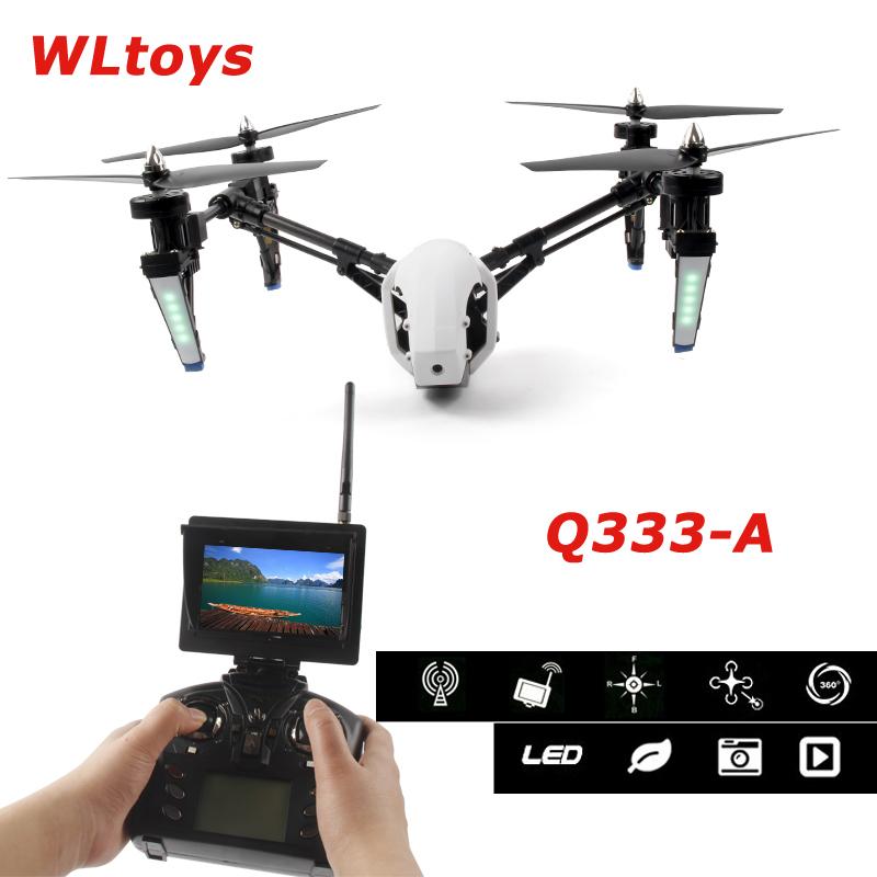 [해외]WlToys Q333-A Q333A 5.8G 4CH 변압기 One-Key-return & amp; 헤드리스 모드 RC Quadcopter720P HD FPV 카메라 HD 모니터 RTF/WlToys Q333-A Q333A 5.8G 4CH Transforme