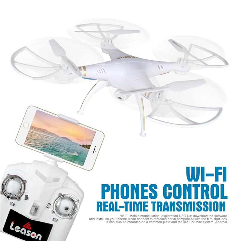[해외]전문 4CH 6 축 자이로 원격 제어 Quadcopter Drone720P의 HD 카메라 와이파이 헤드리스 실시간 비디오 제어 전화로/Professional 4CH 6-Axis GYRO Remote Control Quadcopter Drone720P HD Cam