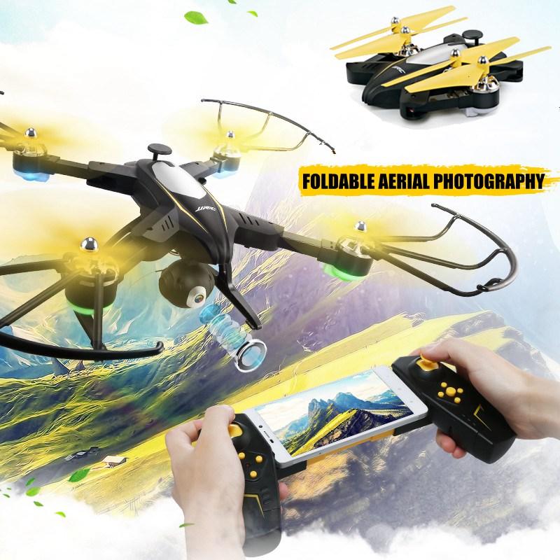 [해외]Jjrc H39wh 접을 수있는 드론 카메라 720p 와이파이 Fpv 쿼드 코프 Rc 드론 Rc 헬리콥터 셀키 드론 원격 제어 완구 Dron H37/Jjrc H39wh Foldable DroneCamera 720p Wifi Fpv Quadcopter Rc Dro