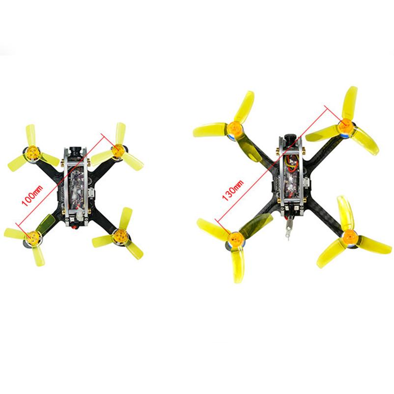 [해외]100/130 PNP FPV Racer Drone 미니 무 브러시 실내 쿼드 콥터 PIKO BLX 비행 제어 DSM2 / XM / FS-RX2A / FM800 수신기 F21459/100/130 PNP FPV Racer Drone Mini Brushless Ind